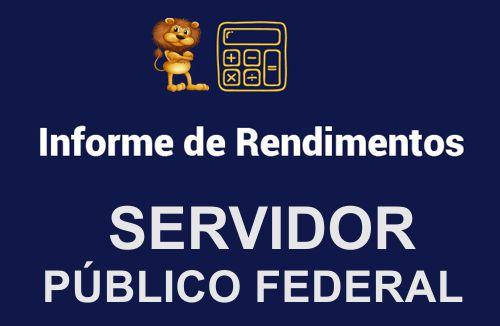 Informe de Rendimentos_FEDERAL